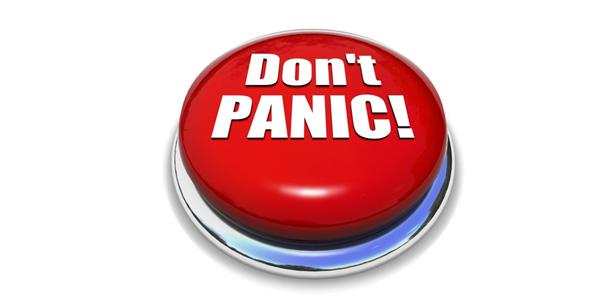 Panicked ??? This Too Shall Pass!