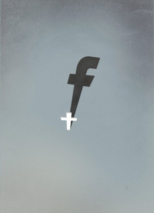 Are You Hanging On The FB Cross ?